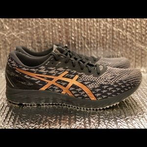 Asics Gel DS Trainer 25 1011A675 Gray Running Shoes Lace Up Low Top Men's 11.5